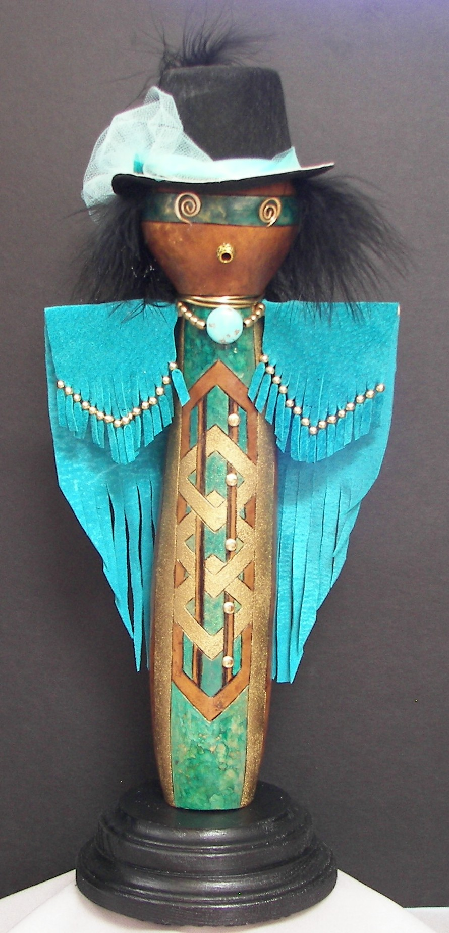 class-gourd-turquoise-lady