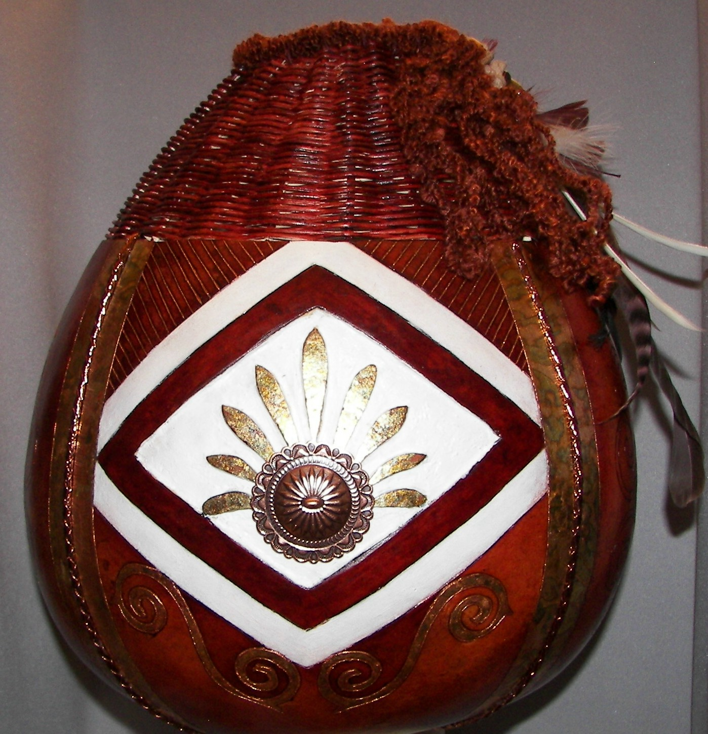 gourd-with-basket-weave